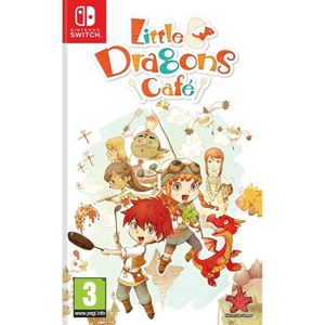 JEU NINTENDO SWITCH Little Dragons Cafe Jeu Switch