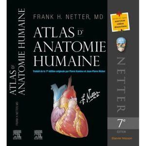 LIVRE MÉDECINE Atlas d'anatomie humaine. 7e édition
