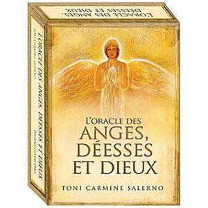 LIVRE PARANORMAL L'oracle des anges, déesses et dieux