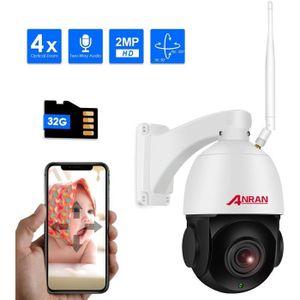 CAMÉRA IP Caméra IP 4X Zoom Optique, système de Surveillance