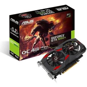 CARTE GRAPHIQUE INTERNE ASUS GeForce GTX 1050 Ti CERBERUS-GTX1050TI-O4G -