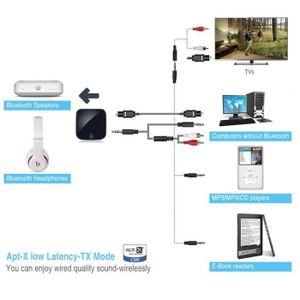 Récepteur audio Bluetooth V4.1 émetteur et récepteur, 2 en 1 sans