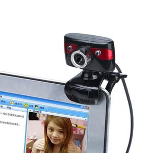 WEBCAM LED Webcam HD 12 Mégapixels Caméra TOURNANT pour o
