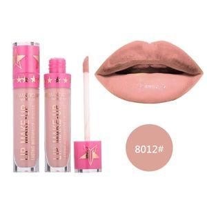 ROUGE A LEVRES  Rouge à lèvres romantique mai imperméable Long Lasting Matte liquide Rouge à lèvres cosmétiques BIO#3201