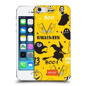 COQUE - BUMPER Officiel emoji® Sorcière Modèles de Halloween Coqu