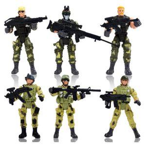 CASSE-TÊTE 6 stylesPoliciers soldats Jouets de poupée militai