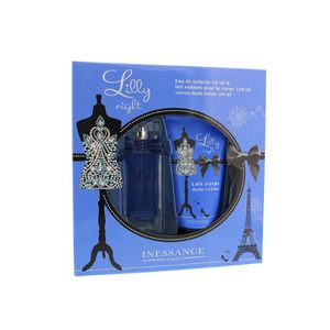 EAU DE TOILETTE INESSANCE Coffret Lilly Night Eau de toilette 50 m