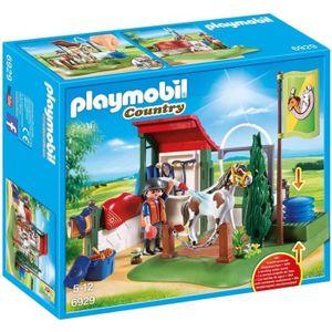 UNIVERS MINIATURE PLAYMOBIL 6929 - Country - Box de Lavage pour Chev