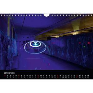 CALENDRIER - EPHEMERIDE calendrier  photographie-art lumière a4 transversa