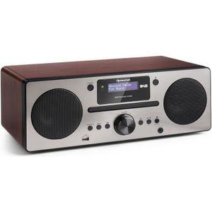 RADIO CD CASSETTE auna Harvard Micro chaîne DAB+ tuner radio FM lect