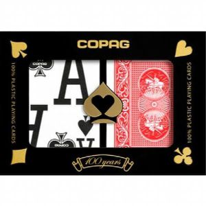 CARTES DE JEU Copag Cartes Poker Index Taille Magnum jeu (Config