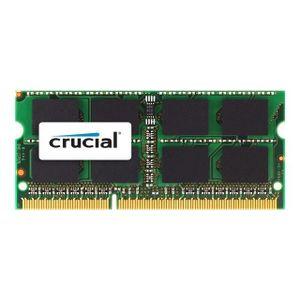 MÉMOIRE RAM CRUCIAL Mémoire PC  Mac - DDR3 - 4GB - 1066 - SODI