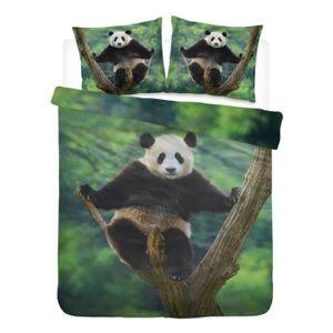 HOUSSE DE COUETTE SEULE Damai Panda housse de couette - 2-personnes (200x2