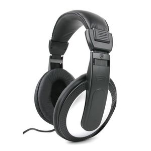 CASQUE AVEC MICROPHONE Casque audio gris-noir pour PC TOSHIBA CB30-A-102