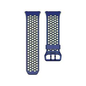 BRACELET MONTRE CONNEC. FITBIT FB160SBBUL - Bracelet Sport pour FITBIT CHA