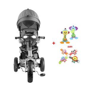 TRICYCLE Tricycle évolutif 2-5 ans Enfants Bébé siège tourn