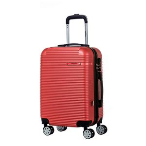 VALISE - BAGAGE SINEQUANONE Valise Trolley Rouge Foncé