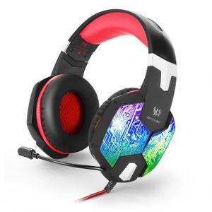 CASQUE AVEC MICROPHONE Casque Audio Gamer PS4, Casque Gaming pc pour,Xbox