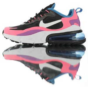BASKET Nike Baskets Air Max 270 React Pink Vivid Purple C