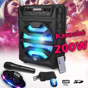 PACK SONO Enceinte SONO DJ MyDJ ECHO07 Autonome Batterie Mob