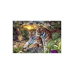 PUZZLE Puzzle Adulte - Familles De Tigres - Animaux - 300