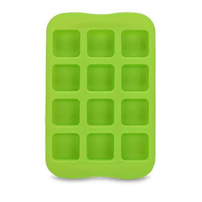Gel de silicone chaud Moule Bar Pudding Gelée Chocolat Maker Moule 12 Ice Cube CNN80308442C_ion