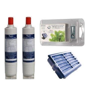 Lot de 2 filtres à eau SBS002 et 2 filtres anti…