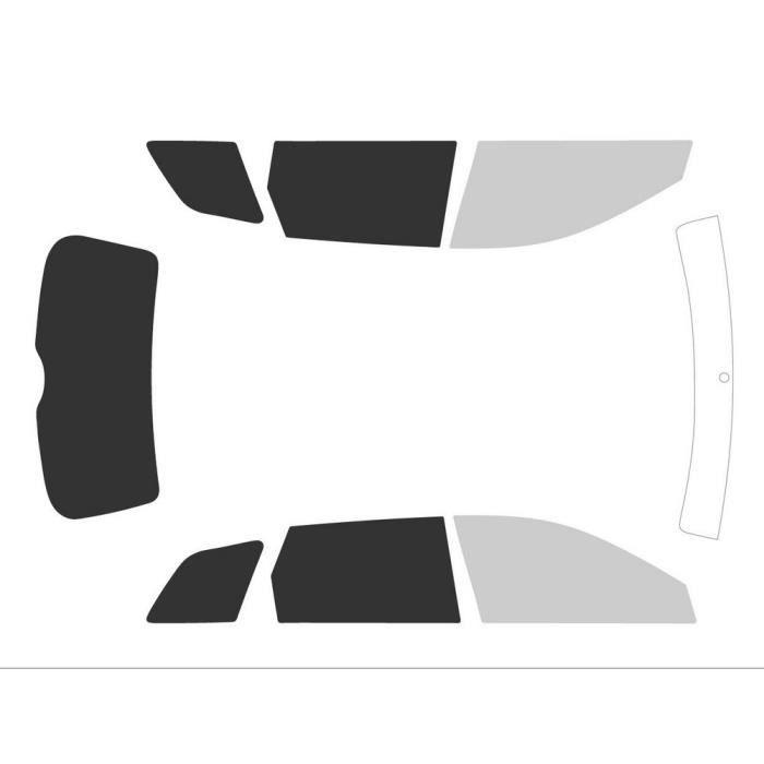Variance Auto va_k-3-20-308-3441-1-46 Film Teinté pour Auto Kit Complet, Noir 70-05