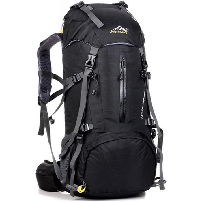 UMEICOOL 50L Imperm&eacuteable Sac &agrave dos Grande Contenance Backpack avec Housse de Pluie pour Sport Randonn&eacutee Tre13