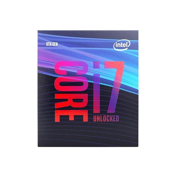 Processeur Intel i7 9700K Coffee Lake R Lga1151 3.6Ghz 12M Bx80684i79700k