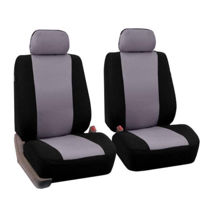 2 pièces montable universel créatif élégant housse de siège de voiture pratique réglable Durable HOUSSE DE SIEGE - COUVRE SIEGE