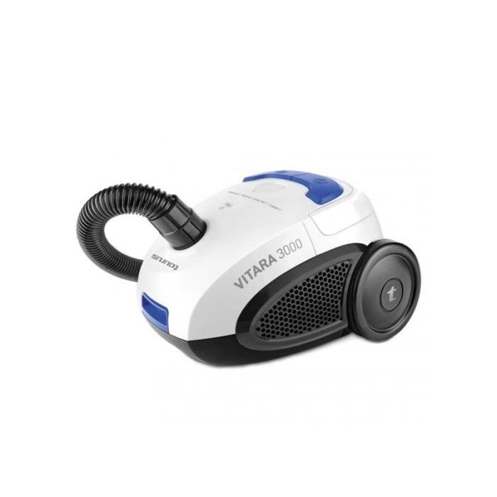 TAURUS 948129000 Aspirateur avec sac Vitara 3000 700 W - 2 L - Blanc et Bleu
