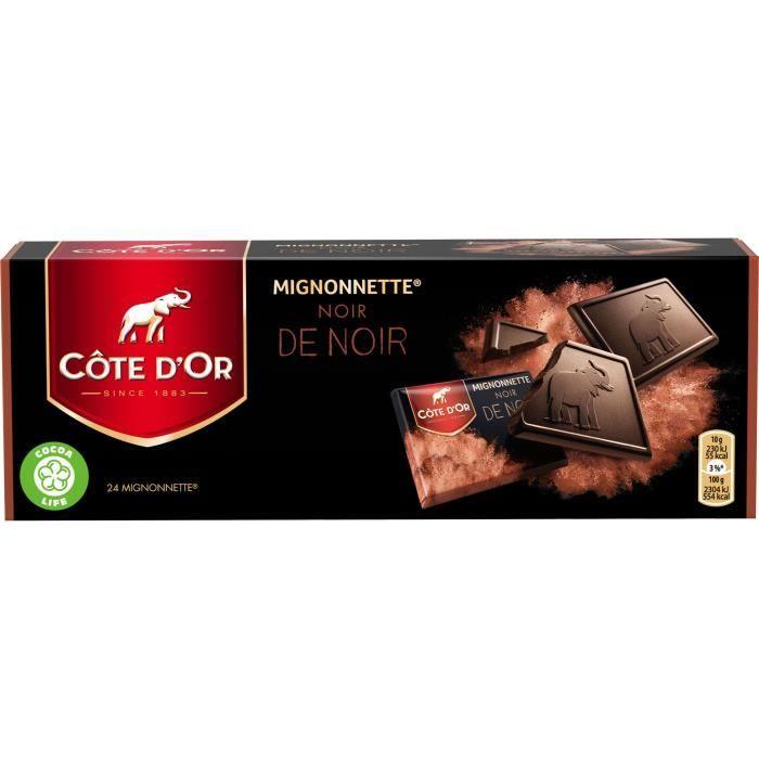 Morceaux de chocolat noir 240 g Côte d'Or