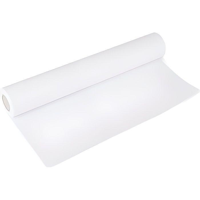 Rouleau papier blanc pour tableau enfant 45,5 cm x 10 metres - Dessin, Coloriage - Jeu Creatif Educatif