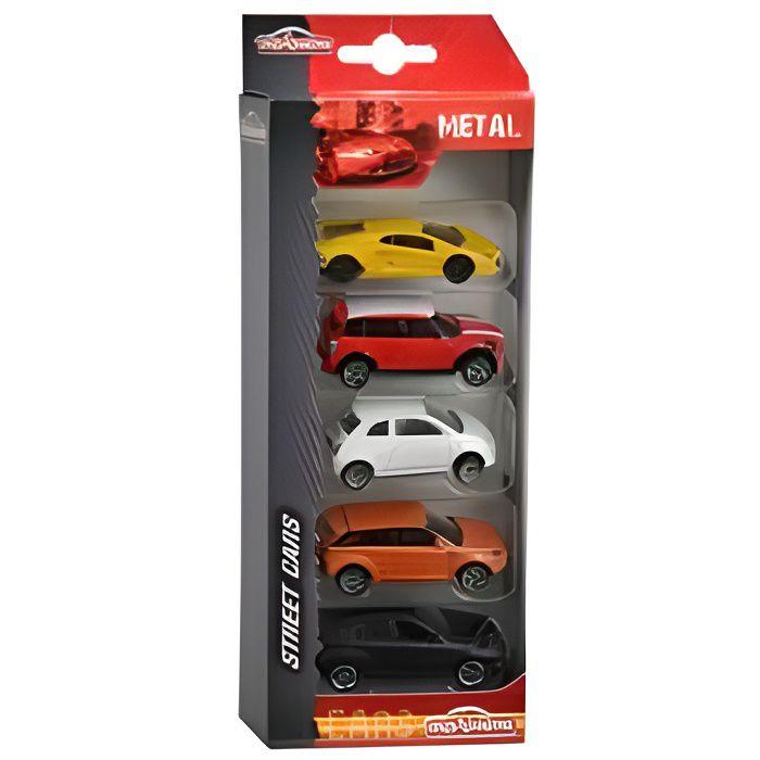Majorette Set de 5 voitures métal