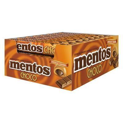 Mentos Choco Caramel [Boîte de 24 pièces]