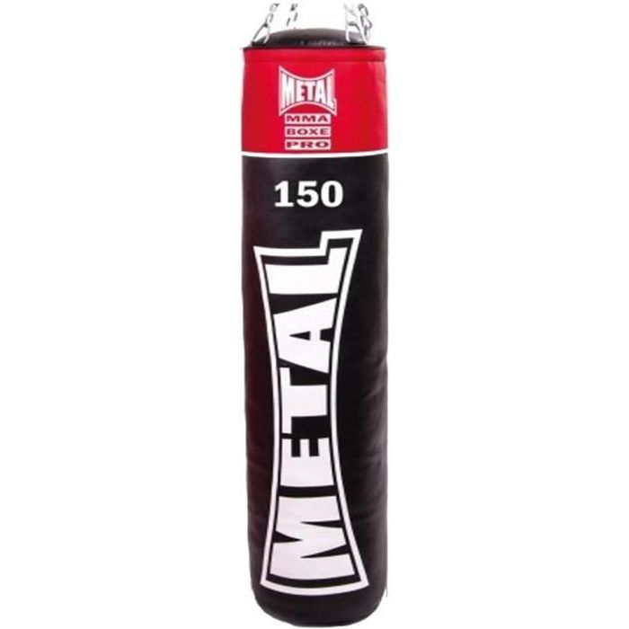 METAL BOXE Sac de frappe Plein Club Line 150 - Noir