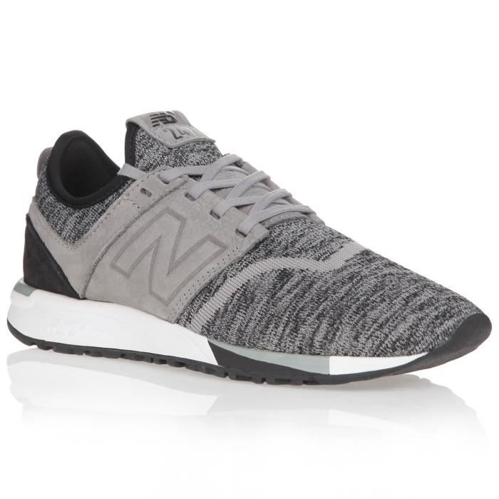 NEW BALANCE Baskets 247 HEATHER - Homme - Marine