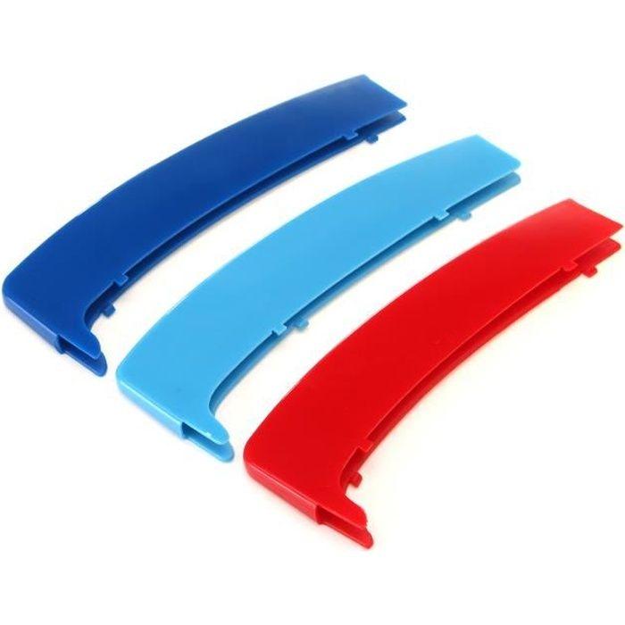 Clip Couverture Grille Calandre Capuchon Boucle Bande M Couleur Pour BMW Série 1 E81 E82 E87 E88 2004-2011