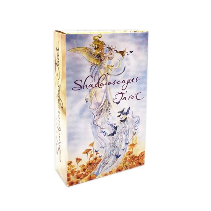 78 PCS Cartes de tarot shadowscapes tarot jeux