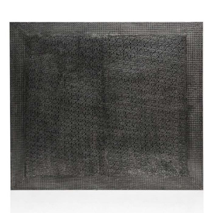 Tête De Lit Design -cordoba- 140cm Noir - Paris Prix