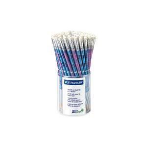 STAEDTLER Crayon graphite 1 x 1, rond, avec gom…