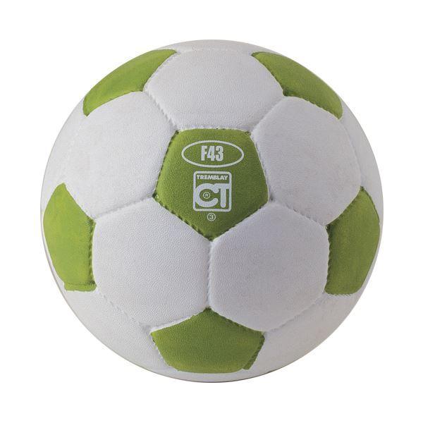 Ballon football caoutchouc taille 3 blanc/Vert
