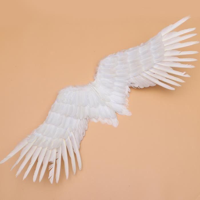 1 PC Performance Aile d'ange blanc fée romantique pour fête d'anniversaire de mariage AUTRE ACCESSOIRE DEGUISEMENT VENDU SEUL