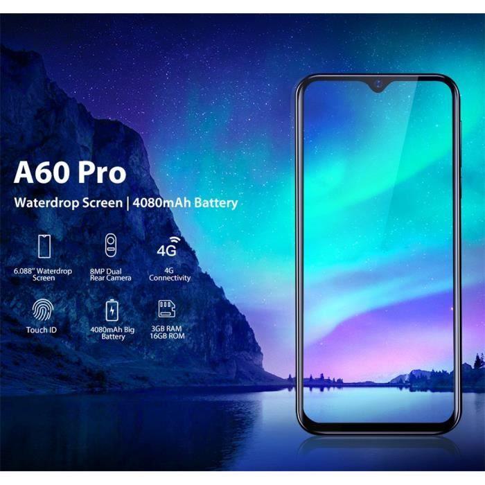 SMARTPHONE miettelove@ Blackview A60 Pro 3G + 16 Go Quad-Core