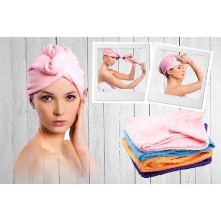 Lot De 4 Serviettes Pour Cheveux à Séchage Rapide Achat Vente Serviettes De Bain Prolongation Soldes Cdiscount