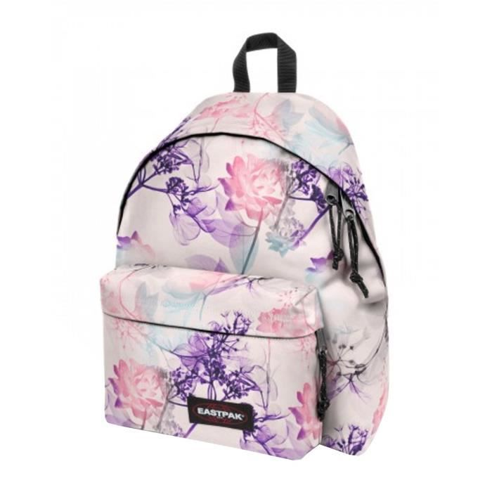 Eastpak Sac A Dos Padded K620 99p Pink Ray Un Attache Clef