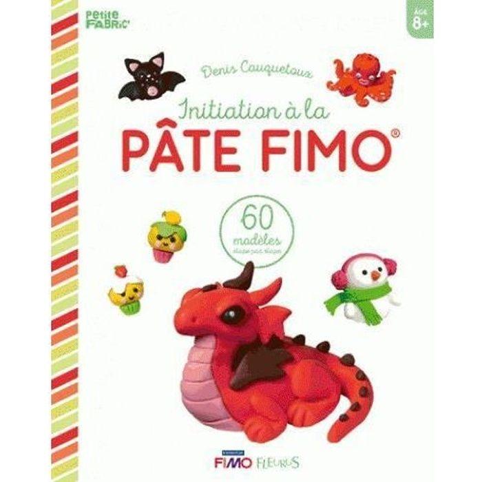 LIVRE 0-3 ANS ÉVEIL Livre - initiation à la pâte Fimo ; 60 modèles