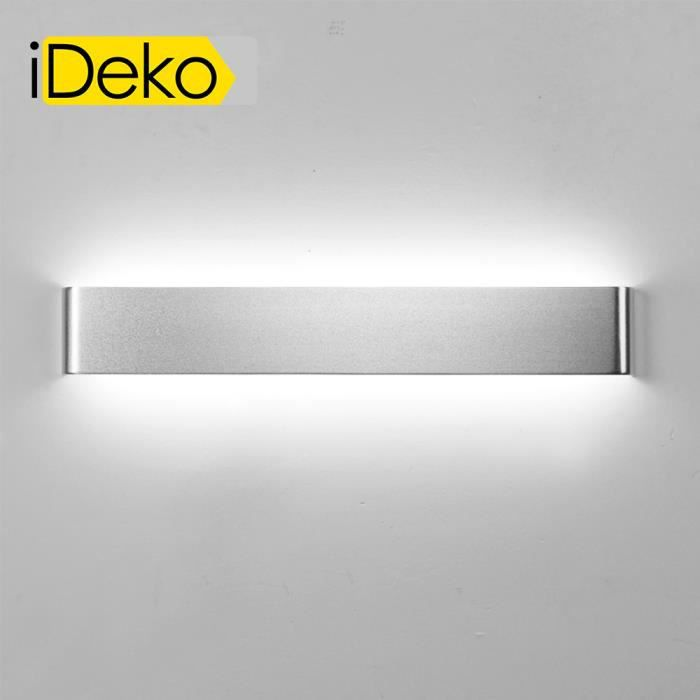 Emejing applique salle de bain led contemporary matkin for Lampe plafond salle de bain
