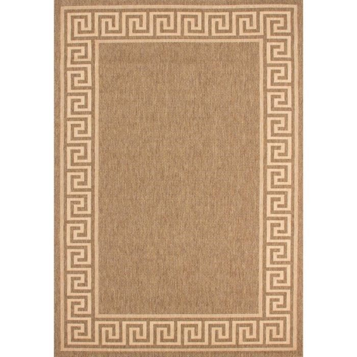 tapis jonc de mer en polypropyl ne marron 200x290 achat vente tapis cdiscount. Black Bedroom Furniture Sets. Home Design Ideas